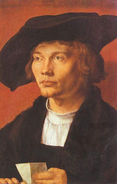 Портрет молодого человека, Дюрер