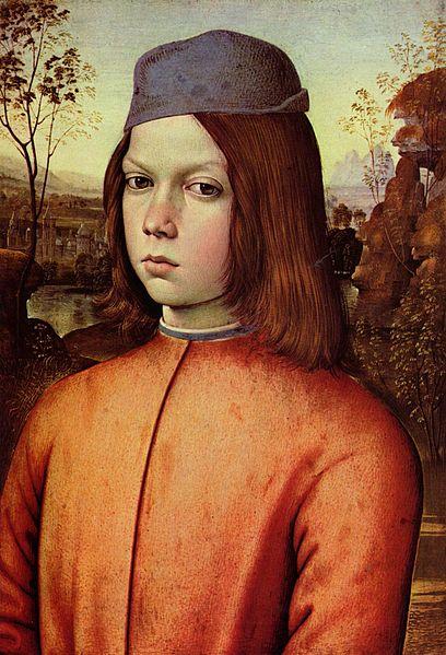 Портрет мальчика, Пинтуриккио