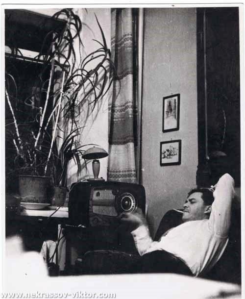 Леонид Волынский. Киев, середина 1960-х. Фото В. Некрасова